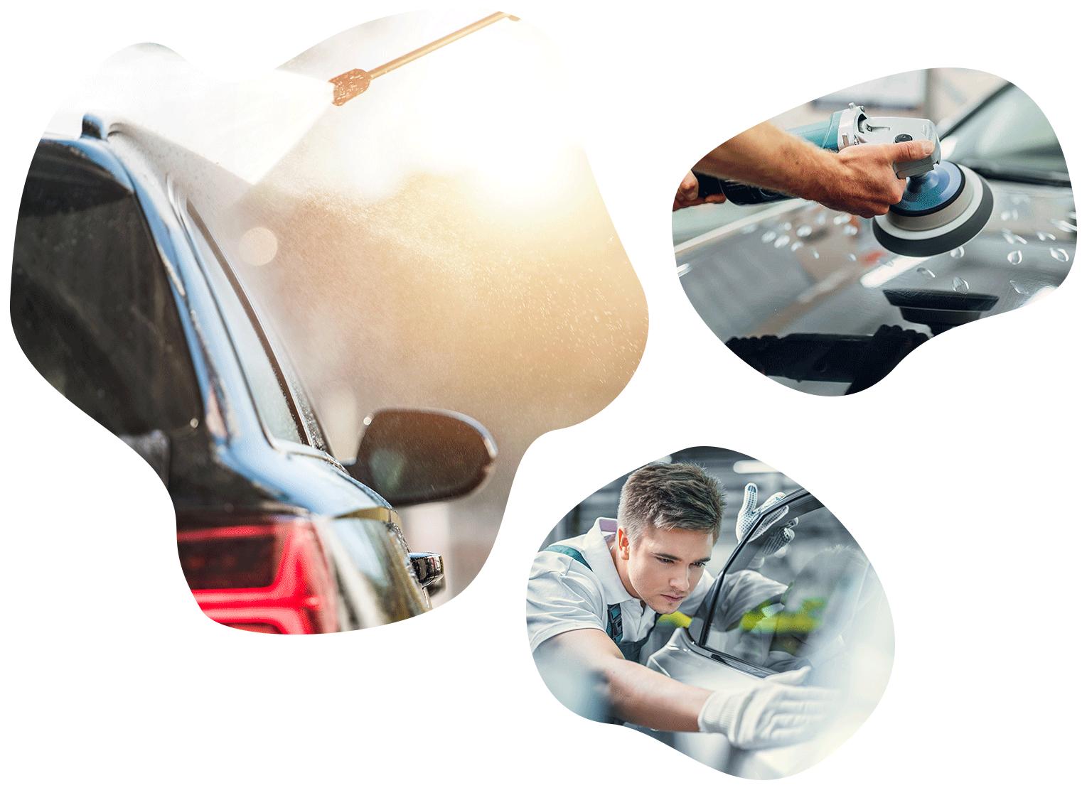 zunanje čiščenje avtomobila